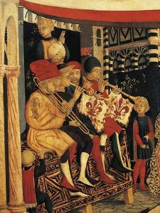 Musicians by Giovanni Di Ser Giovanni