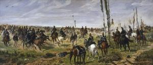 Assault on Madonna Della Scoperta, 1864-1868 by Giovanni Fattori