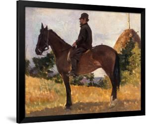 Diego Martelli on Horseback, Modern Art Gallery, Pitti Palace, Florence by Giovanni Fattori