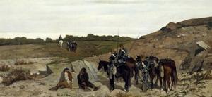 Episode of Campaign Against Brigandage, 1863 by Giovanni Fattori