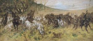Fatal Encounter, 1900 by Giovanni Fattori