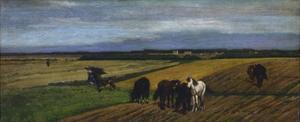 Pasture by Giovanni Fattori