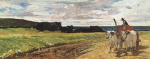 Rural Landscape, 1867 by Giovanni Fattori