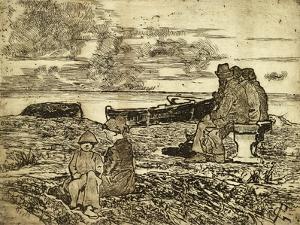 Sailors Resting by Giovanni Fattori