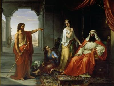 St. John the Baptist Rebuking Herod