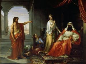 St. John the Baptist Rebuking Herod by Giovanni Fattori
