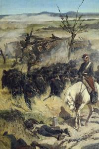 The Italian Camp after Battle of Magenta by Giovanni Fattori
