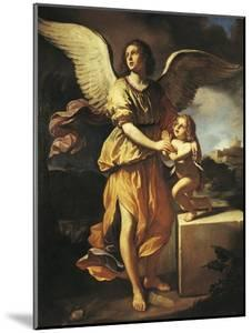 The Guardian Angel, 1641 by Giovanni Francesco Barbieri