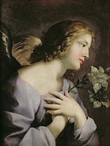 The Angel of the Annunciation, c.1650 by Giovanni Francesco Romanelli