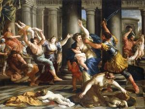 The Massacre of the Innocents, C.1631 by Giovanni Francesco Romanelli