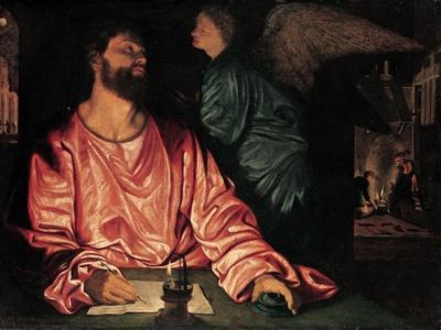Saint Matthew and the Angel, c.1534