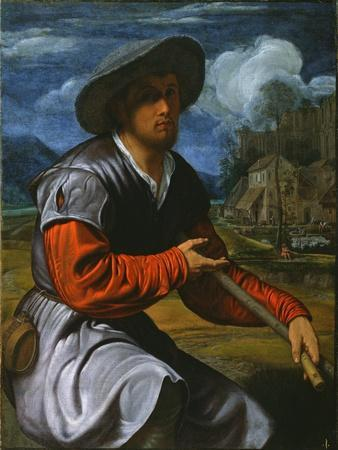 Shepherd with a Flute, c.1525