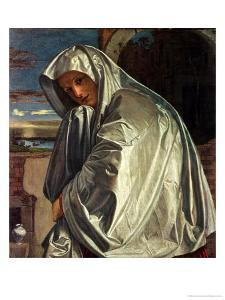 St. Mary Magdalene Approaching the Sepulchre by Giovanni Girolamo Savoldo