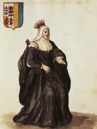 Portrait of Caterina Cornaro