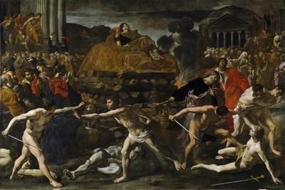 Funeral of a Roman Emperor (Cremation Ceremon)