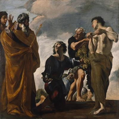 Moses and the Messengers from Canaan, 1621-24