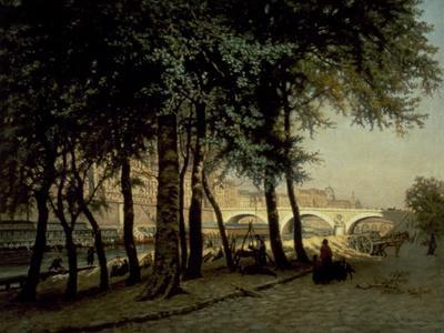 Along Seine in Paris