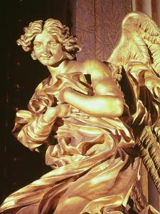 Angel from the Tabernacle in the Blessed Sacrament Chapel, 1674 by Giovanni Lorenzo Bernini