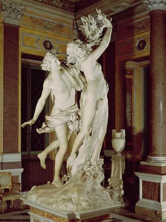 Apollo and Daphne, 1622-25 (Marble)