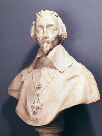 Bust of Cardinal Richelieu circa 1642