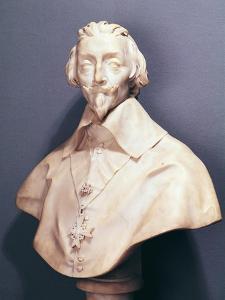 Bust of Cardinal Richelieu circa 1642 by Giovanni Lorenzo Bernini