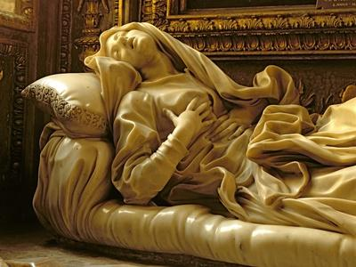 Death of the Blessed Ludovica Albertoni, from the Altieri Chapel, 1674