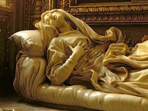 Death of the Blessed Ludovica Albertoni, from the Altieri Chapel, 1674 by Giovanni Lorenzo Bernini