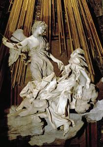 Ecstacy of Saint Theresa of Avila, Marble, 1645 by Giovanni Lorenzo Bernini