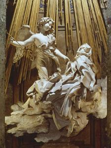 Ecstasy of Saint Teresa by Giovanni Lorenzo Bernini