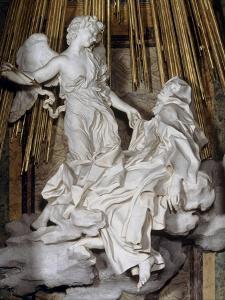 Ecstasy of St. Theresa by Giovanni Lorenzo Bernini