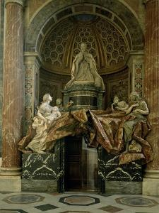 Monument to Alexander VII in the North Transept, 1672-78 by Giovanni Lorenzo Bernini