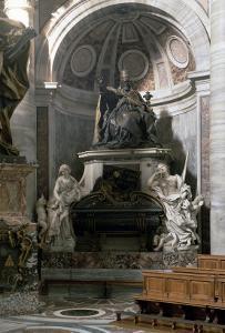 Monument to Urban VIII by Giovanni Lorenzo Bernini