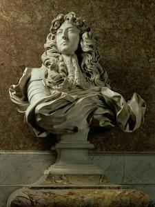 Portrait Bust of Louis XIV, 1665 by Giovanni Lorenzo Bernini