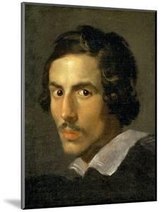 Self Portrait of the Artist in Middle Age by Giovanni Lorenzo Bernini