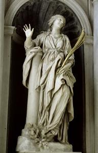 St. Bibiana, 1626 by Giovanni Lorenzo Bernini