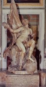 Truth Unveiled by Time, circa 1645-52 by Giovanni Lorenzo Bernini