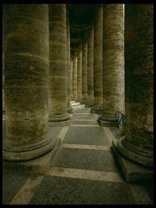 View Inside the Colonnade by Giovanni Lorenzo Bernini