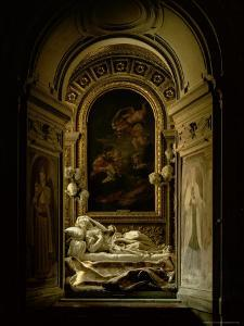 View of the The Altieri Chapel with the Death of the Blessed Ludovica Albertoni, 1675 by Giovanni Lorenzo Bernini