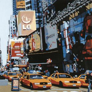 Cabs of New-York III by Giovanni Manzo