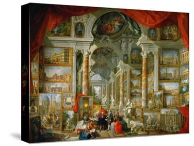 Picture Gallery with Views of Modern Rome (Modern Rom)