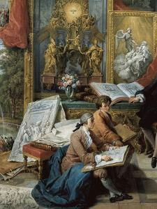Gallery of Views by Pannini by Giovanni Paolo Pannini