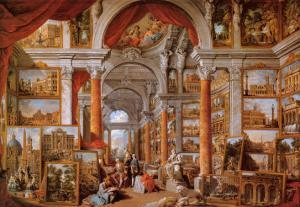 Picture Gallery by Giovanni Paolo Pannini