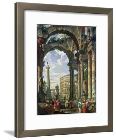 Roman Capriccio, 18th Century