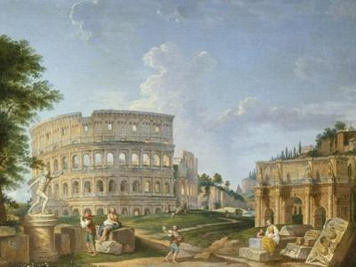 The Colosseum, Rome by Giovanni Paolo Pannini