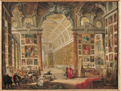 The Gallery of Cardinal Silvio Valenti-Gonzaga in Rome, 1749