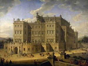 View of the Castle of Rivoli, 1723 by Giovanni Paolo Pannini
