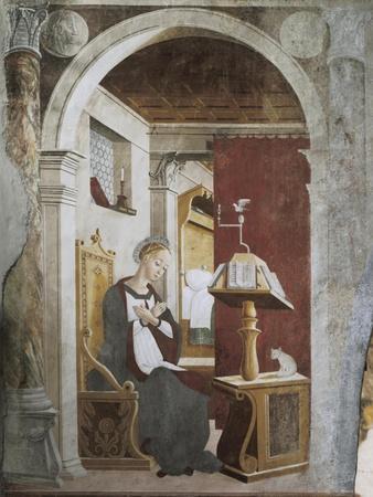 Annunciation, Fresco
