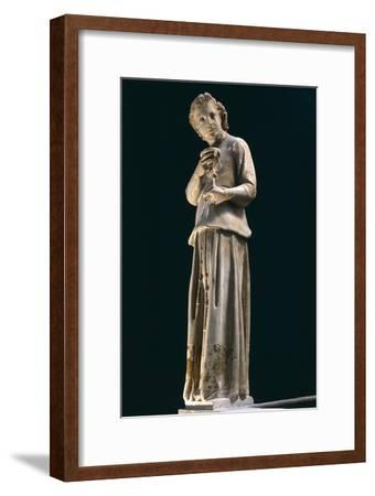 Figure of Angel, Statue to Left of Group of Madonna and Child with Two Angels, Ca 1312