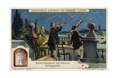 Giovanni Schiaparelli, Italian Astronomer--Giclee Print