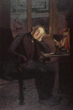 Carlo Rotta (In Brooding and Melancholy Pose)